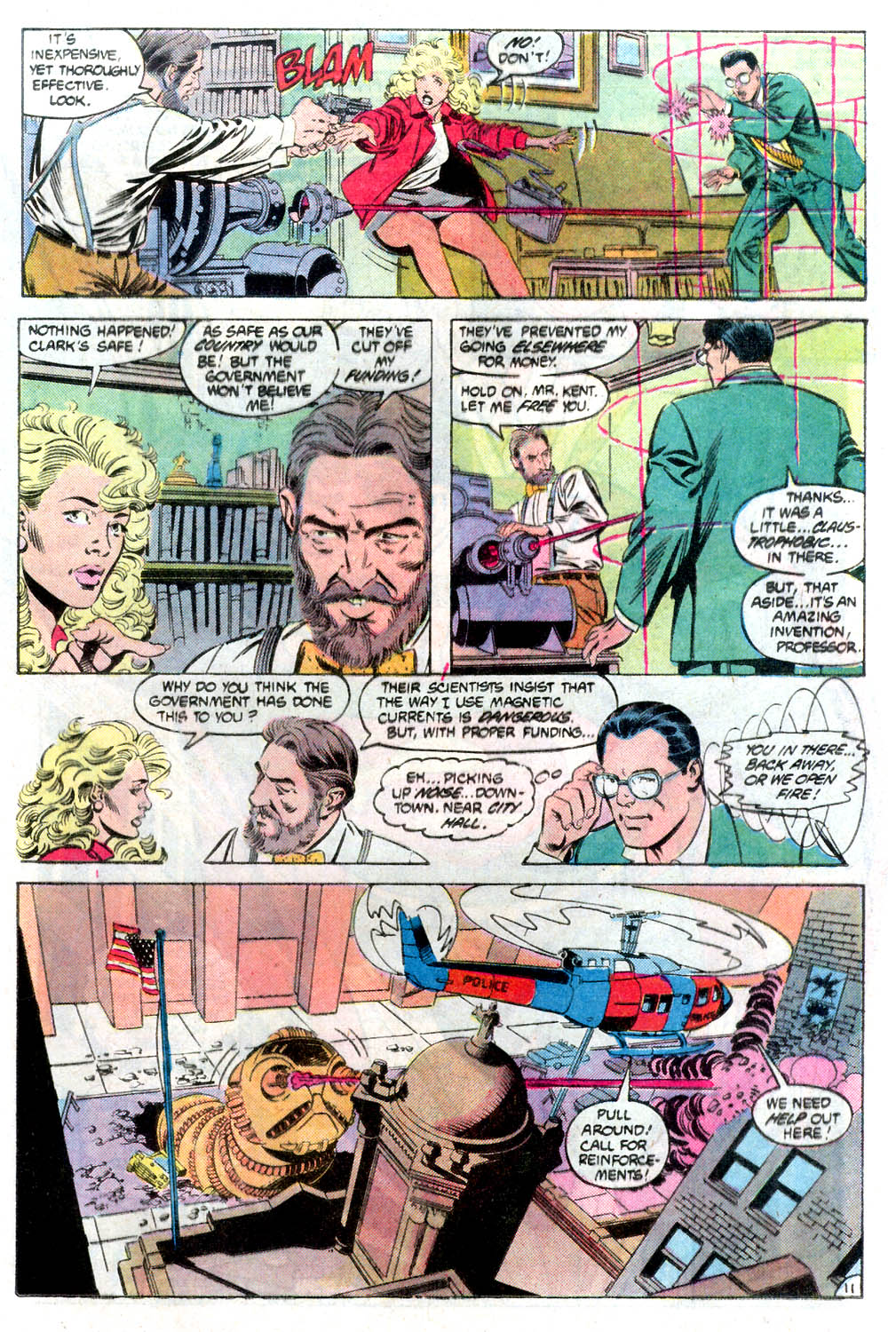 Read online Adventures of Superman (1987) comic -  Issue #424 - 12