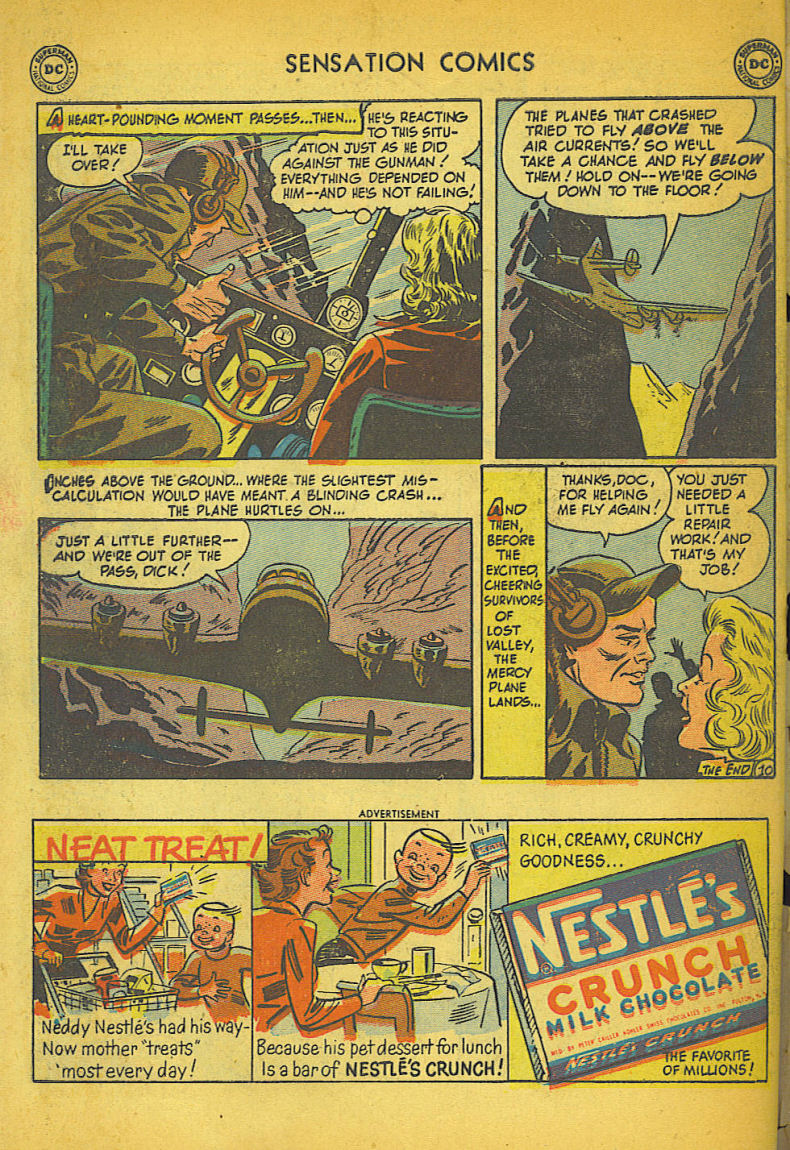 Read online Sensation (Mystery) Comics comic -  Issue #104 - 50
