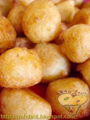 Izah Muffin Lover Cucur Kentang Dan Nasi