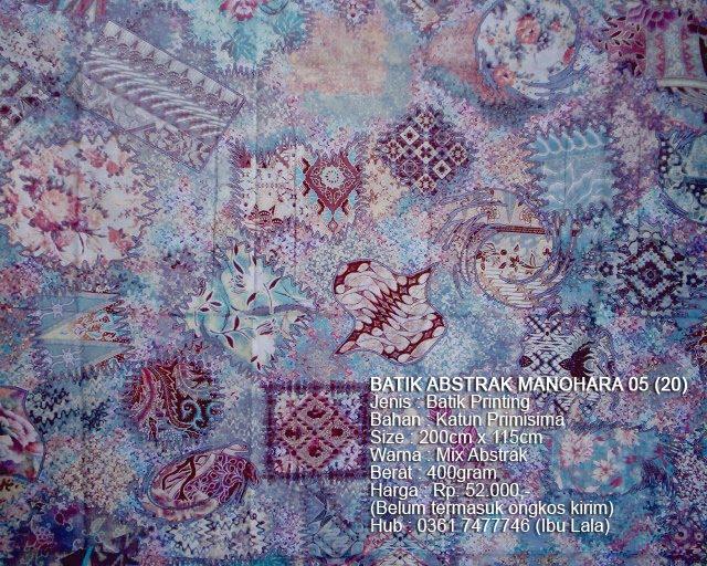 Indonesian Abstrak Batik: Batik Abstrak