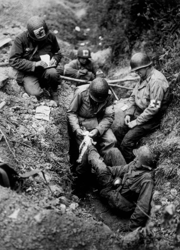 what happened to injured soldiers in ww1