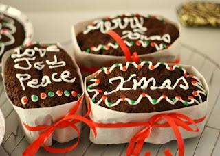 Xmas Cake Icing Writing Template