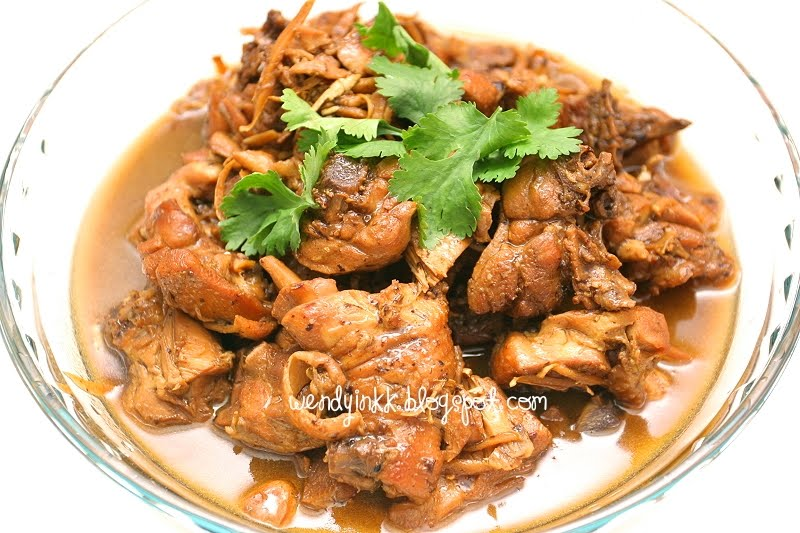 Table for 2.... or more: Ginger Braised Chicken, My mom's ...