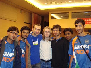 Team India @ 4th World Sudoku Championship 2009 Zilina Slovakia