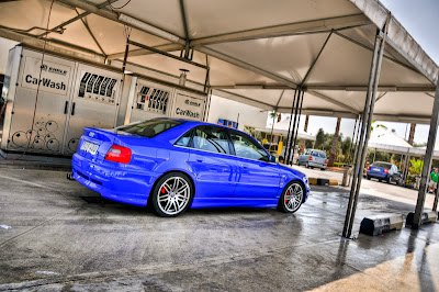 Featured Ride: Sam's 385 hp, Blue Audi S4 (B5
