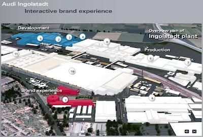 Interactive Tour of Audi's Ingolstadt Production Plant