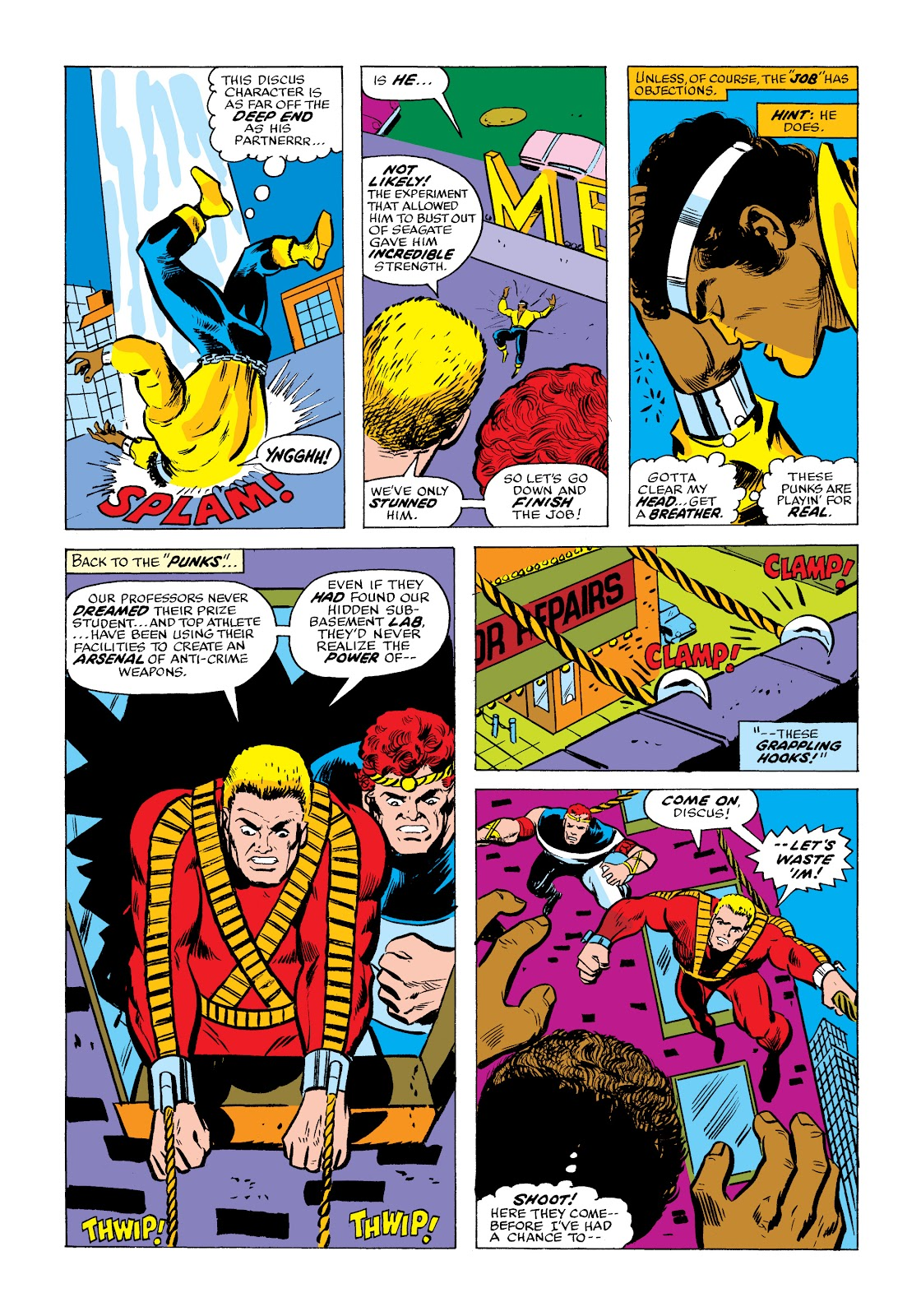 Read online Marvel Masterworks: Luke Cage, Power Man comic -  Issue # TPB 2 (Part 2) - 15
