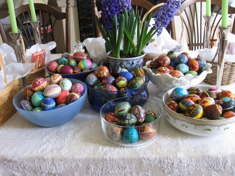 Inspiration for an easter craft early or homemade wedding gifts part of the collection we have amassed as a family over many years negle Gallery