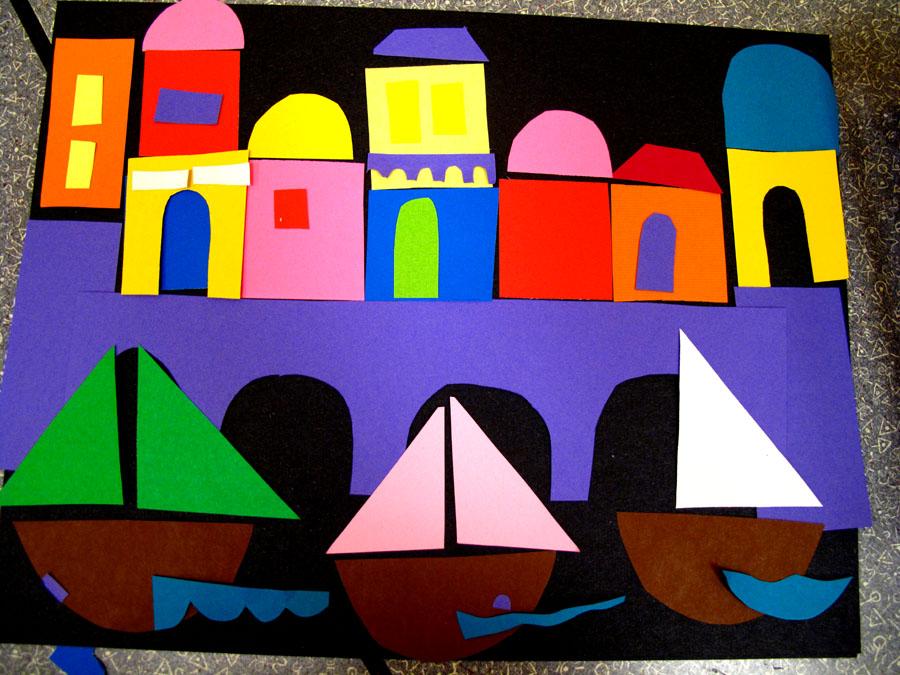 Laughpaintcreate: Toddlers Build Venice