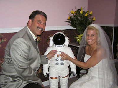 Space Theme Wedding