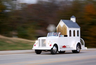 1942 Truck Into A Hot-Rod Wedding Chapel On Wheels