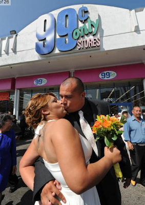 99-Cent Only Store Wedding