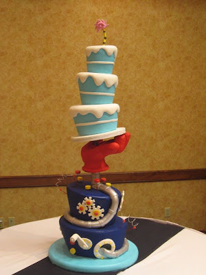The Dr. Seuss Wedding Cake