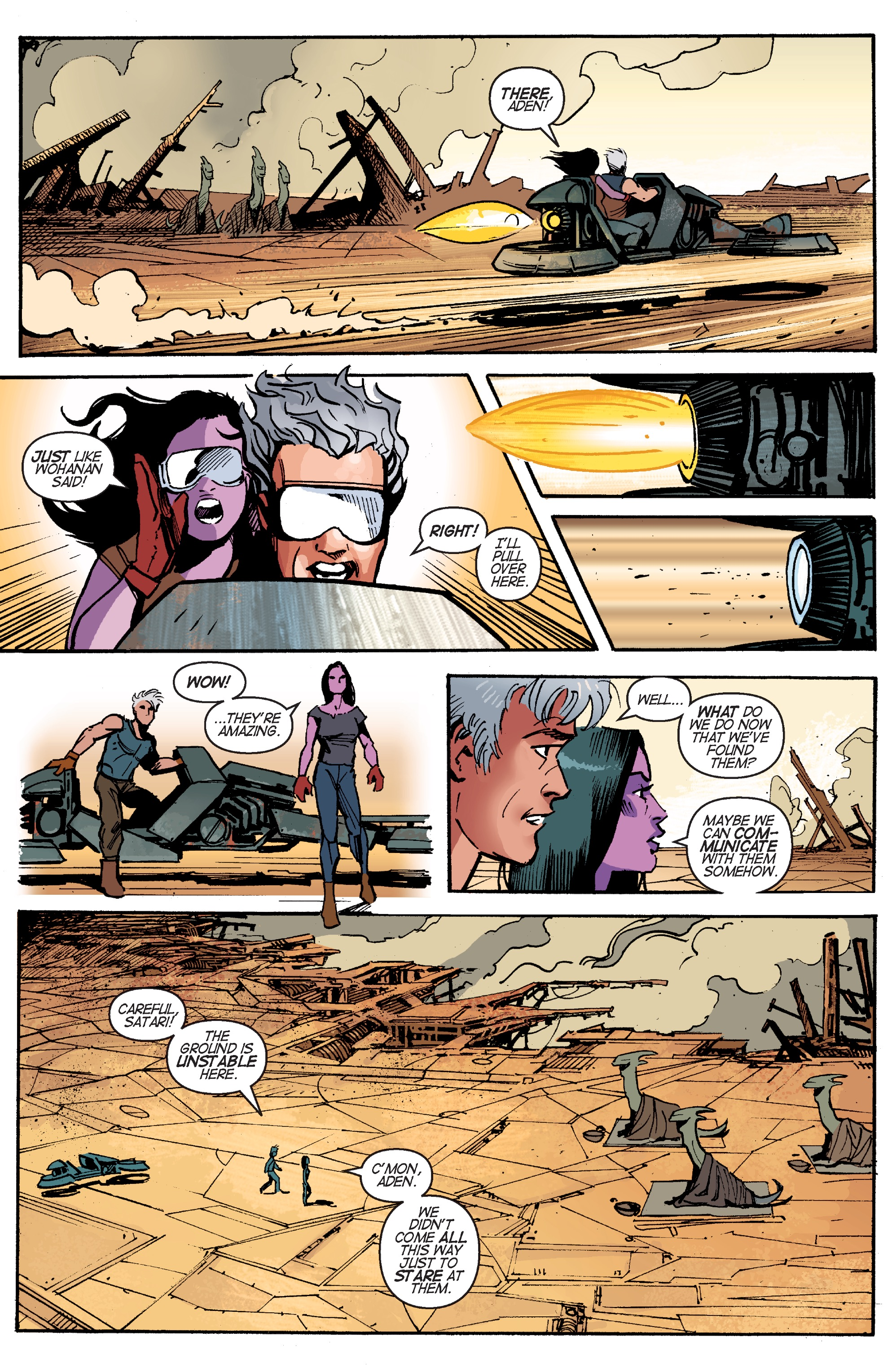 Read online Planetoid Praxis comic -  Issue #5 - 23