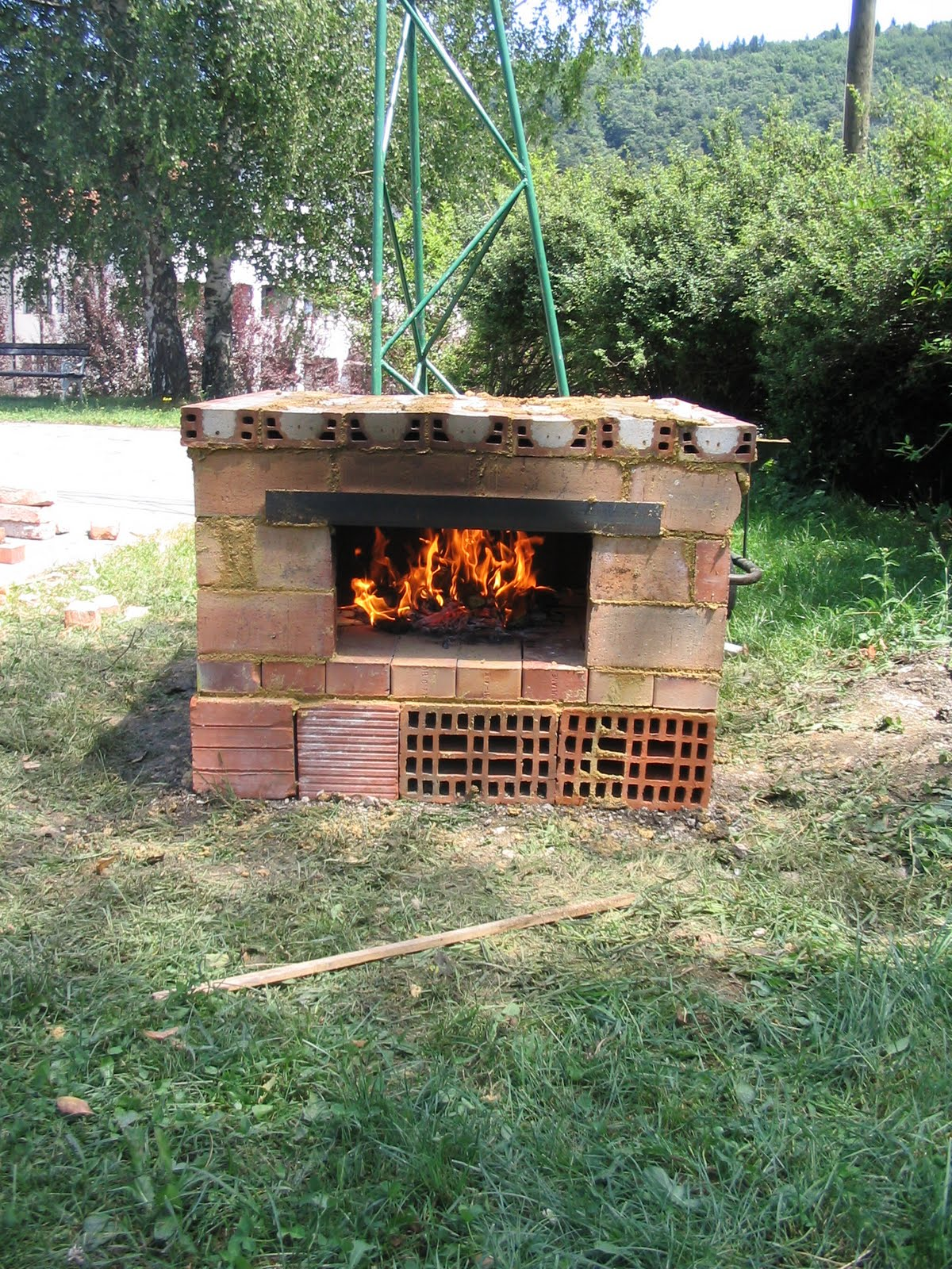 Building Ovens Baking And Cooking By Joc 2 Hour Brick Oven