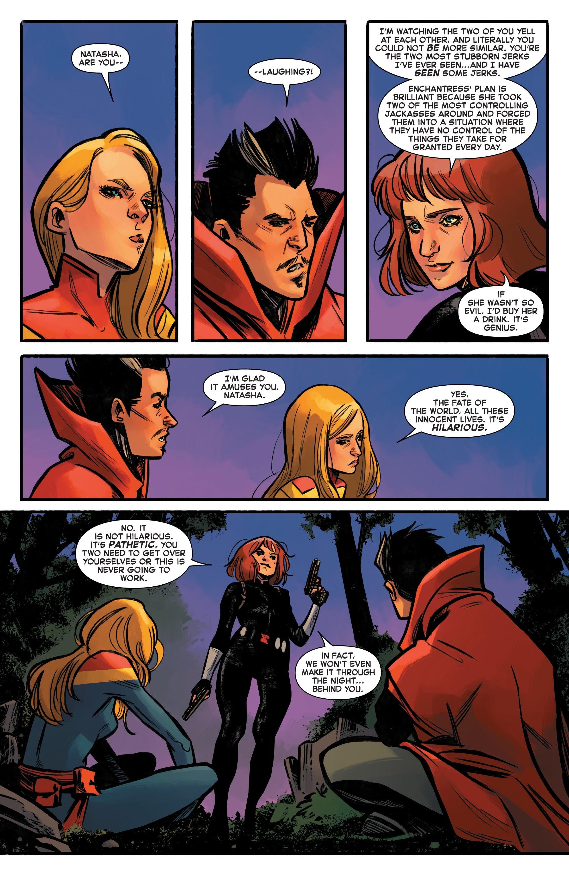 Read online Captain Marvel (2019) comic -  Issue #6 - 21
