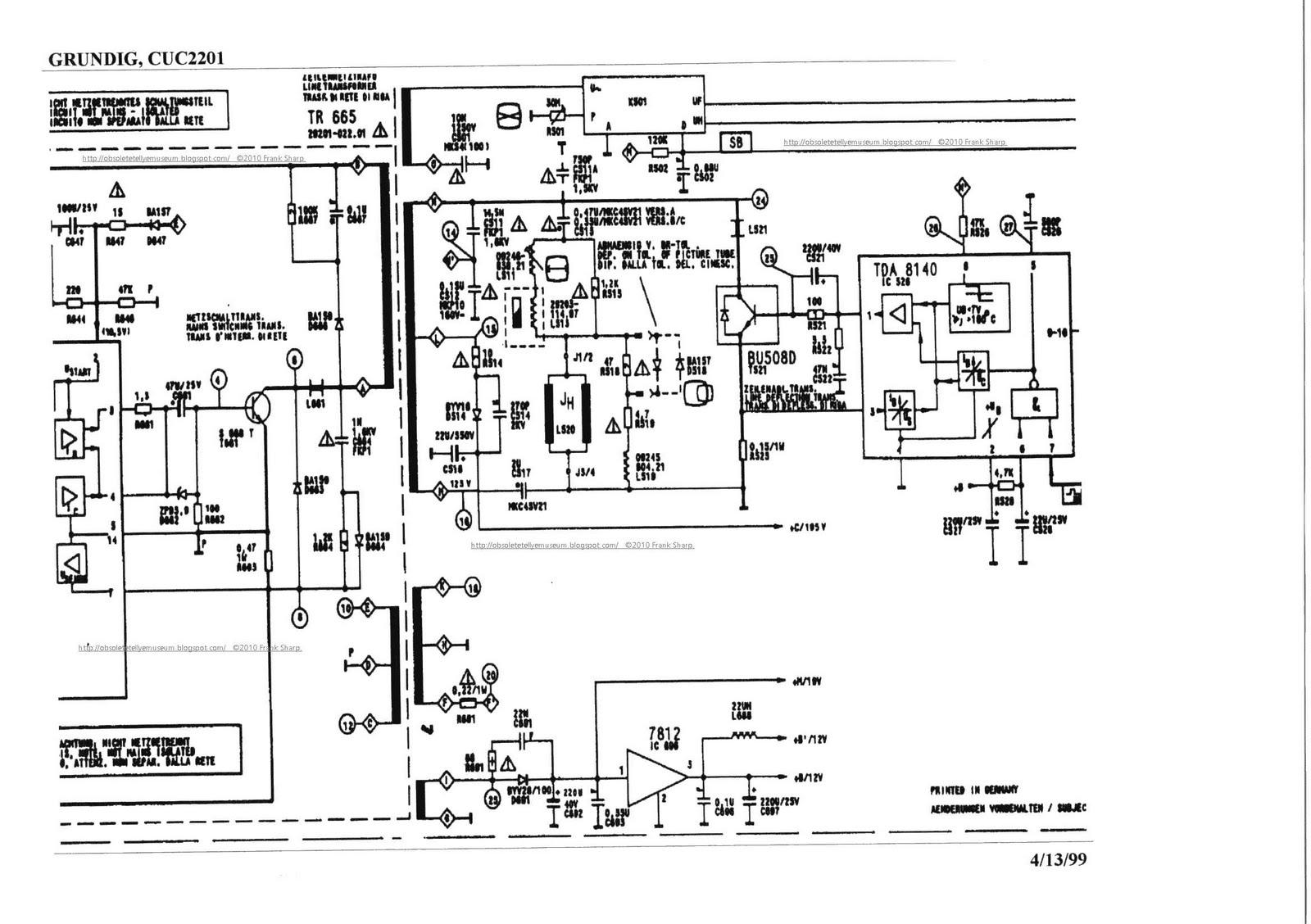 Obsolete Technology Tellye !: GRUNDIG SUPER COLOR P37-222