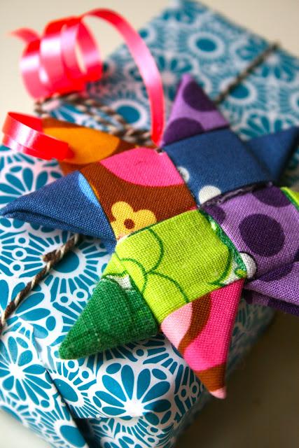 Fabric Woven Stars by Sofie Legarth DIY