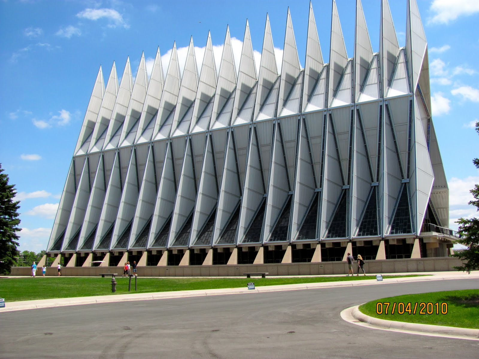 America by RV: U.S. Air Force Academy Self-Guided Tour