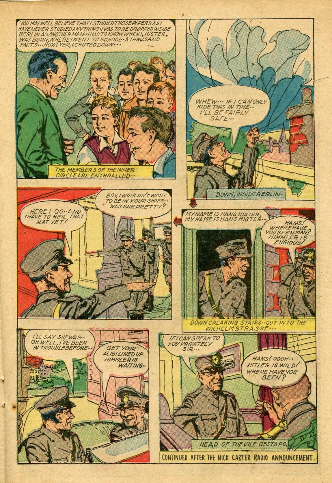 Read online Shadow Comics comic -  Issue #69 - 25