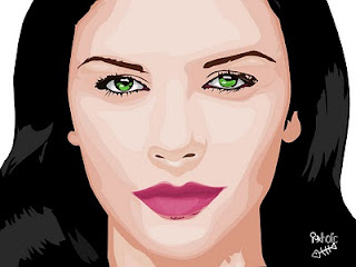 Vector Catherine Zeta Jones