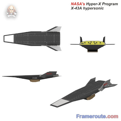 nasa x 43a hypersonic takes flight - photo #20