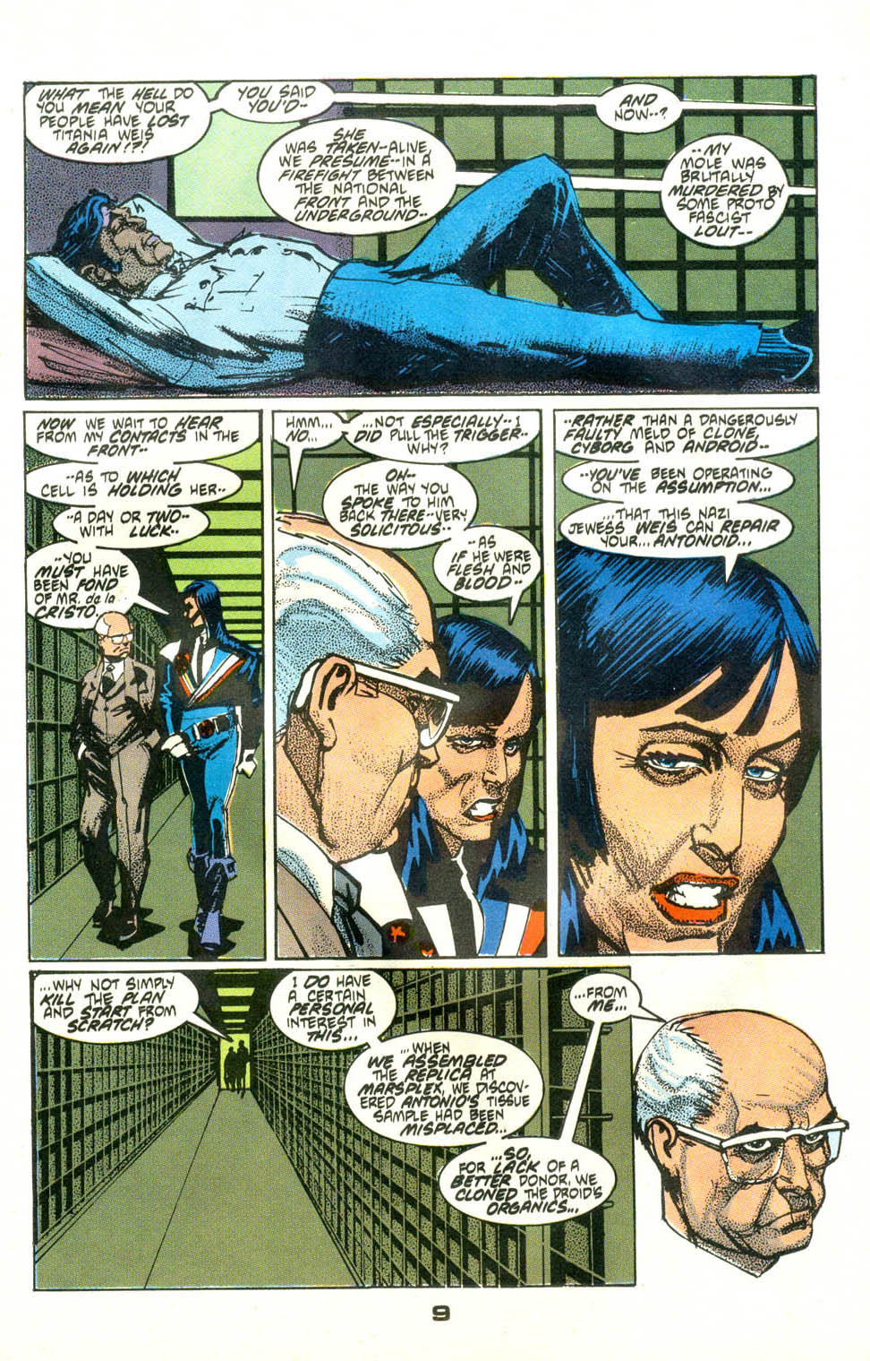 Read online American Flagg! comic -  Issue #24 - 11