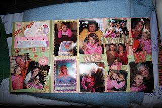8 x 8 scrapbook layouts