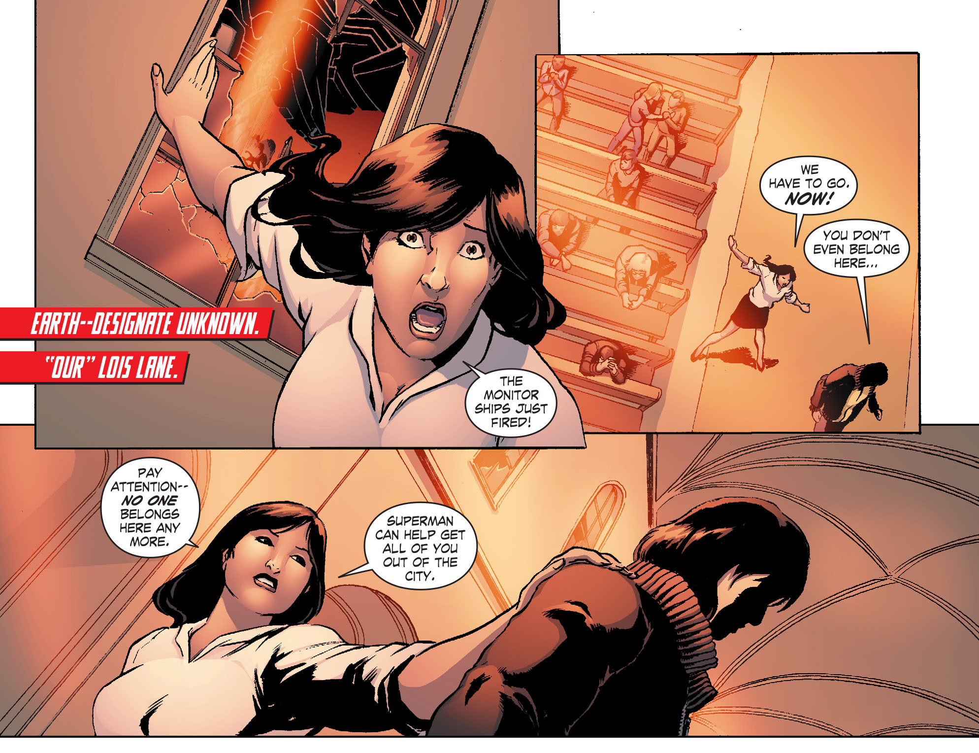 Read online Smallville: Chaos [II] comic -  Issue #4 - 7