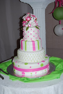 lime green and hot pink wedding cakes eat creations pink amp lime green wedding cake 16896