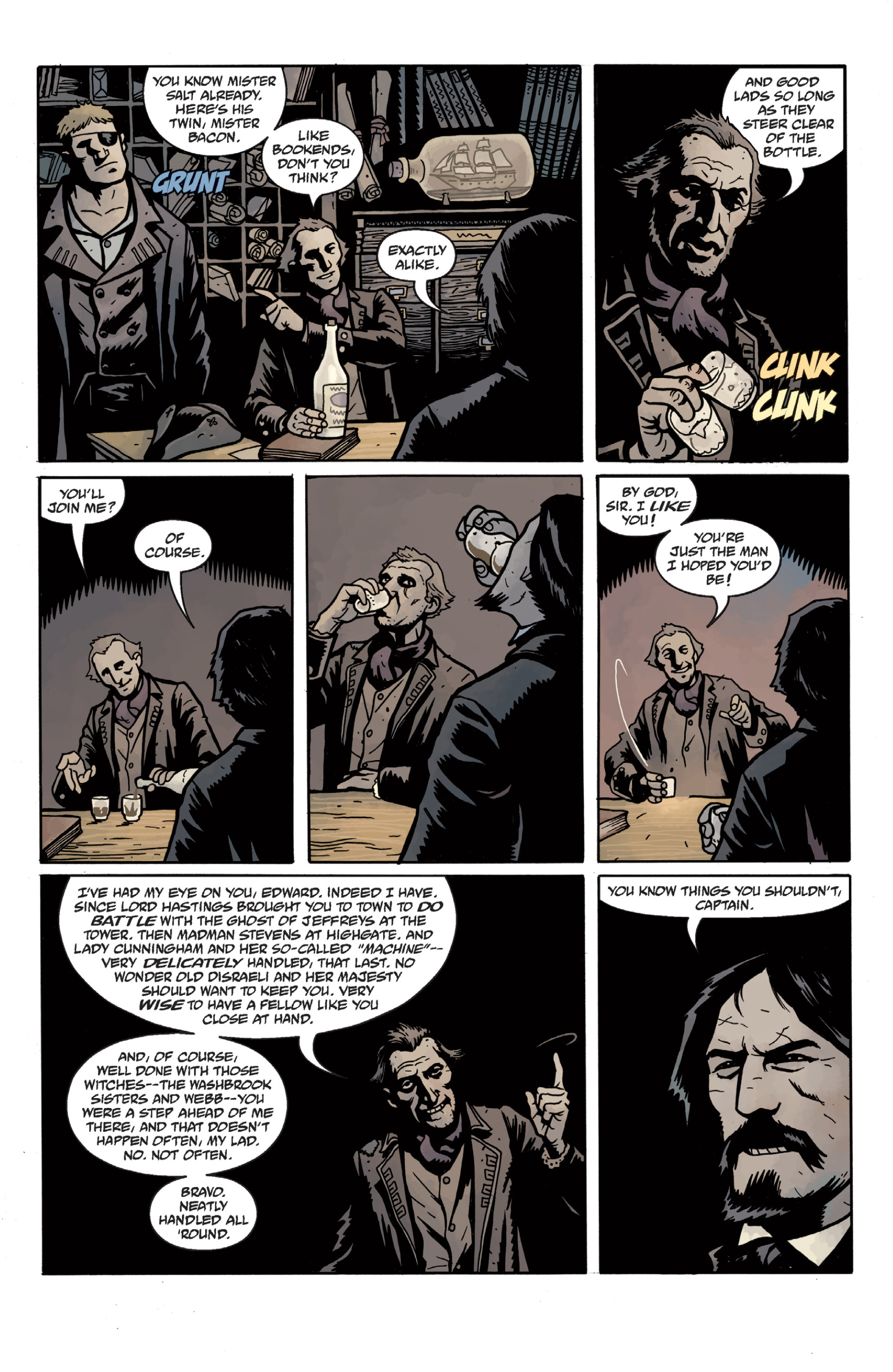 Read online Sir Edward Grey, Witchfinder: In the Service of Angels comic -  Issue # TPB - 37