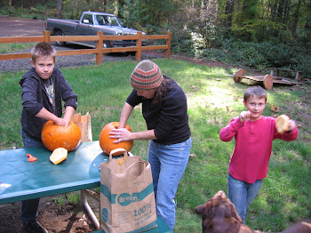 Gutting Pumpkins!