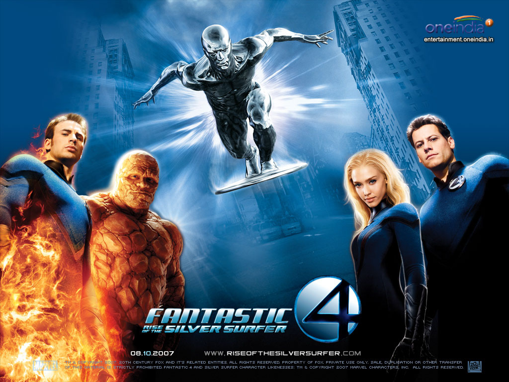 Fantastic Four The Rise Of The Silver Surfer Comic Book And Movie Reviews