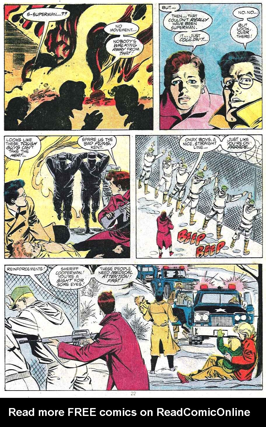 Read online Adventures of Superman (1987) comic -  Issue #439 - 23