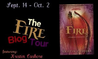 Day 4 of the Kristin Cashore Fire Blog Tour