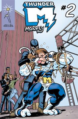 The new Thunder Monkey book