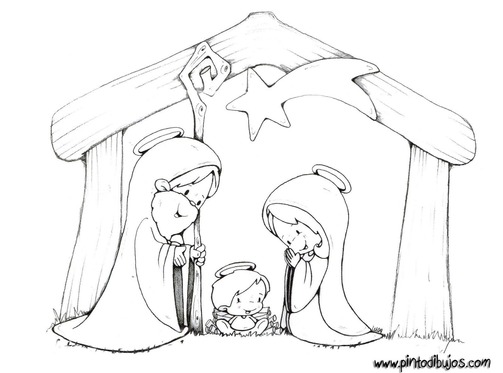 Imagenes De Navidad Para Niños Para Colorear