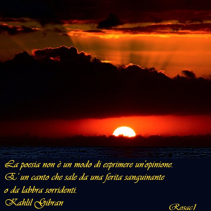 Poesie Sulla Vita Di Kahlil Gibran