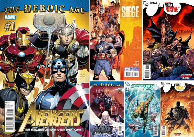 It's A Dan's World: THE SALES PITCH: May's Top Comic Sellers