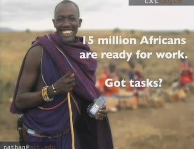 15 million Africans ready for work. Got tasks?