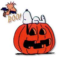 Snoopy en Halloween