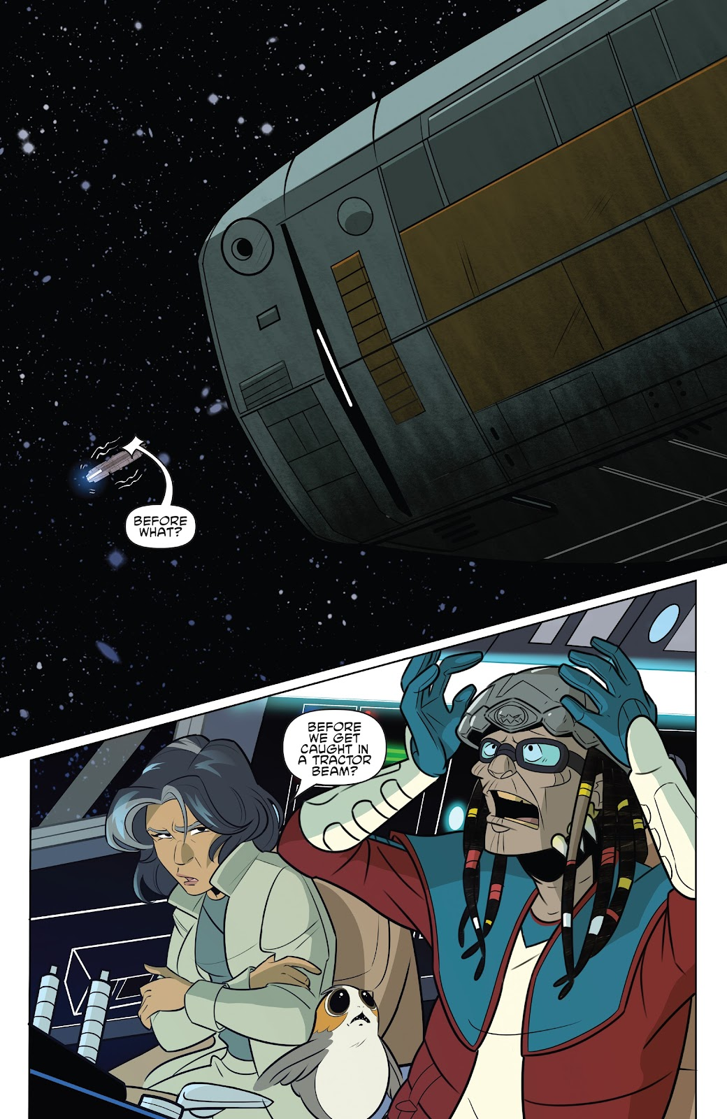 Read online Star Wars Adventures: Flight of the Falcon comic -  Issue # Full - 14