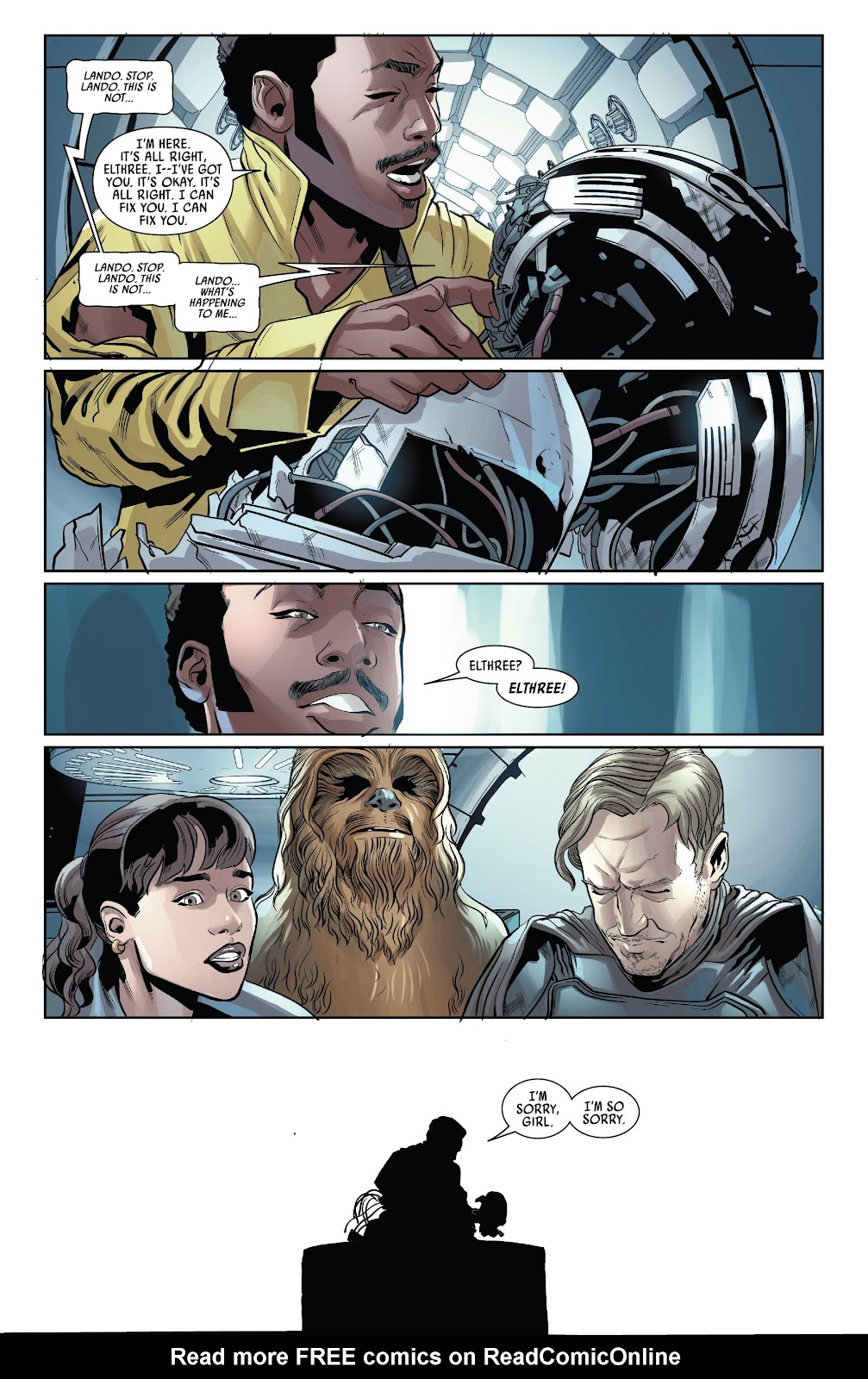 Read online Solo: A Star Wars Story Adaptation comic -  Issue #4 - 20