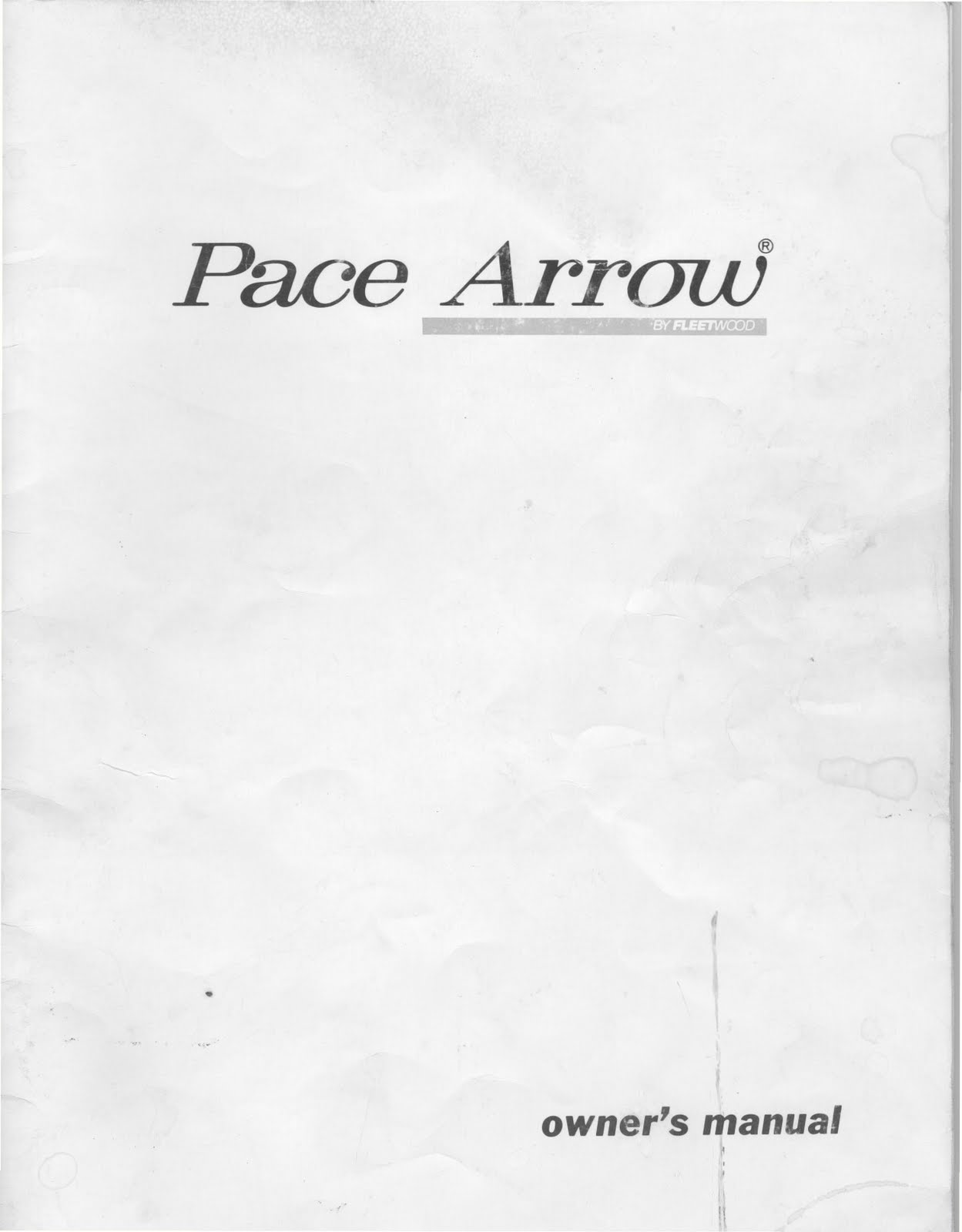 1983 Fleetwood Pace Arrow Owners Manuals Volkswagen Vanagon Repair Manual