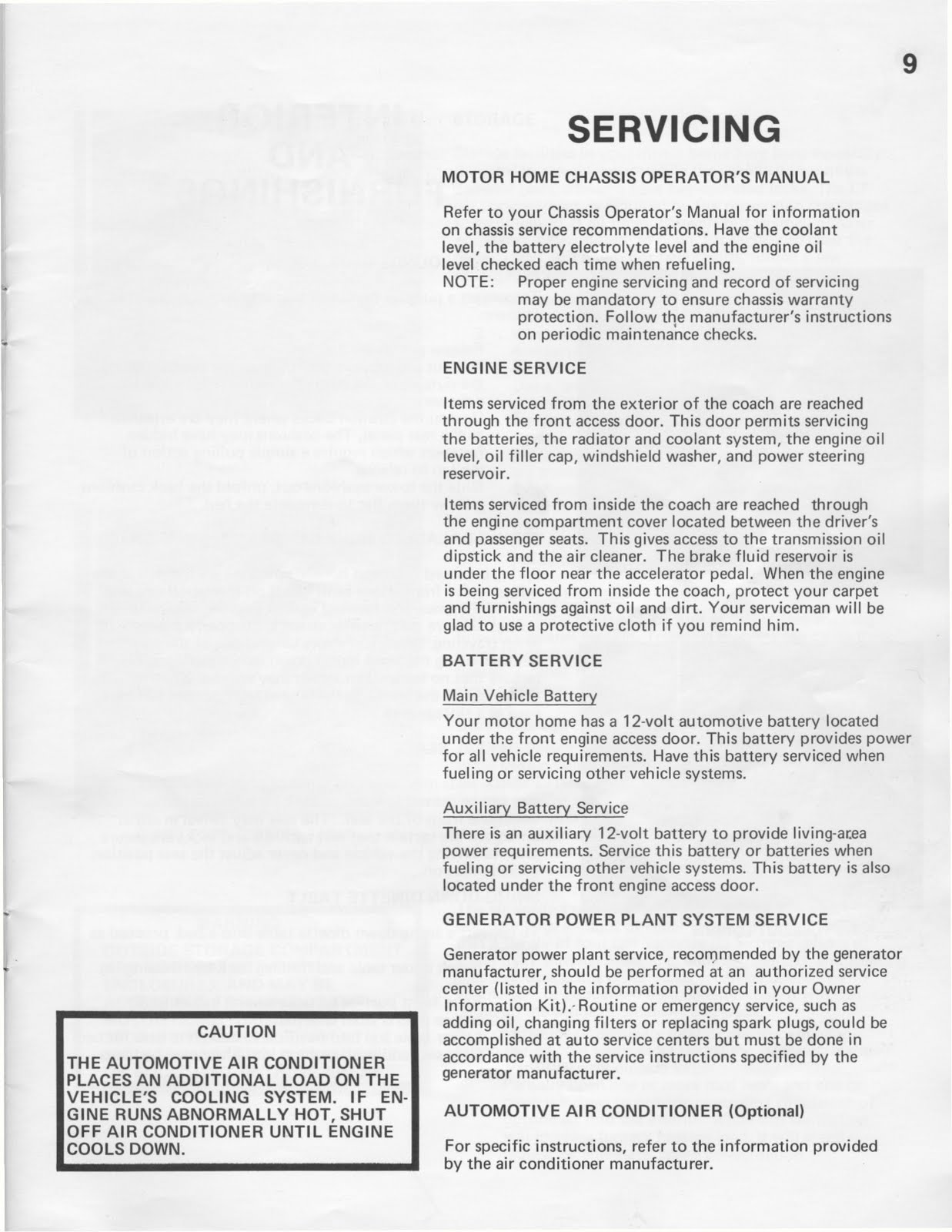 medium resolution of 1983 fleetwood pace arrow owners manual