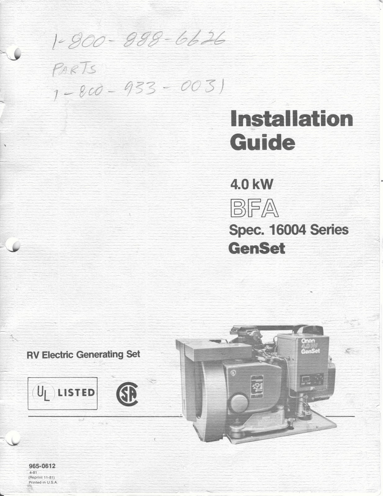 Onan 4 0 Rv Genset Wiring Diagram 33 Images 5 Bgd Emerald Generator 4kw Bfa Install0001 001 1983 Fleetwood Pace Arrow Owners Manuals