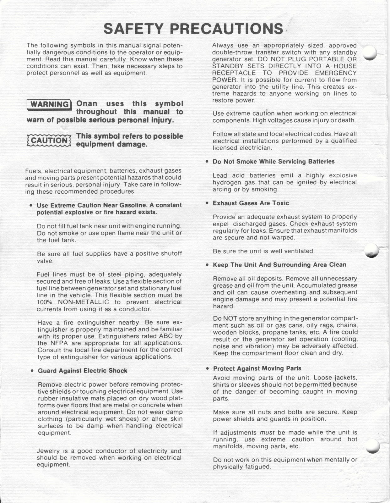 medium resolution of wiring diagram onan generator wiring image 1983 fleetwood pace arrow owners manuals onan 4 0 kw