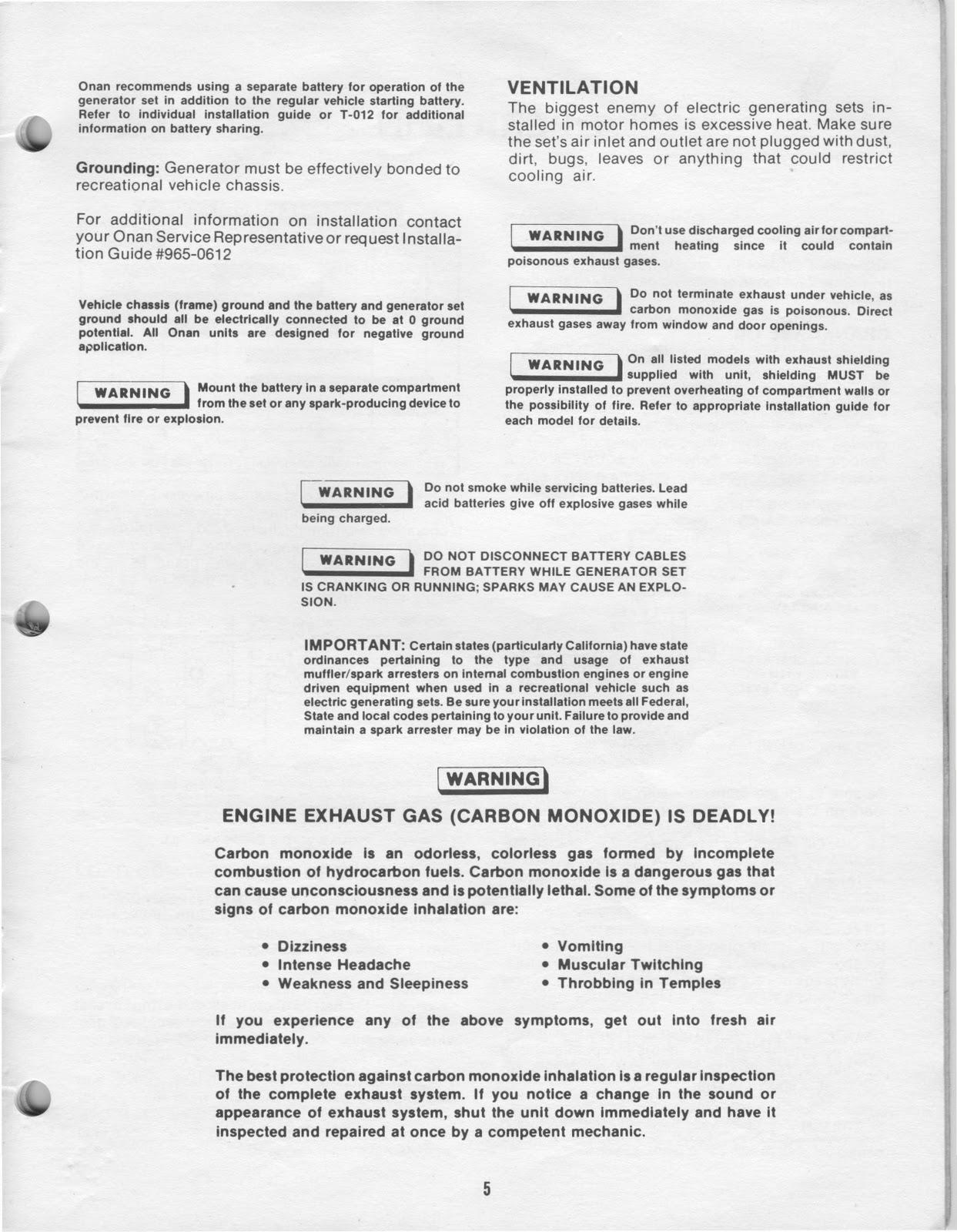 wiring diagram onan generator wiring image 1983 fleetwood pace arrow owners manuals onan 4 0 kw [ 1243 x 1600 Pixel ]