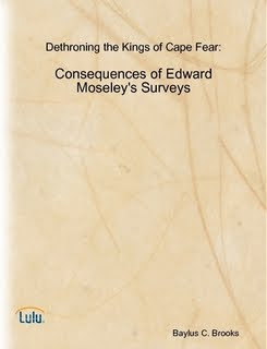 Dethroning the Kings of Cape Fear: Consequences of Edward Moseley's Surveys