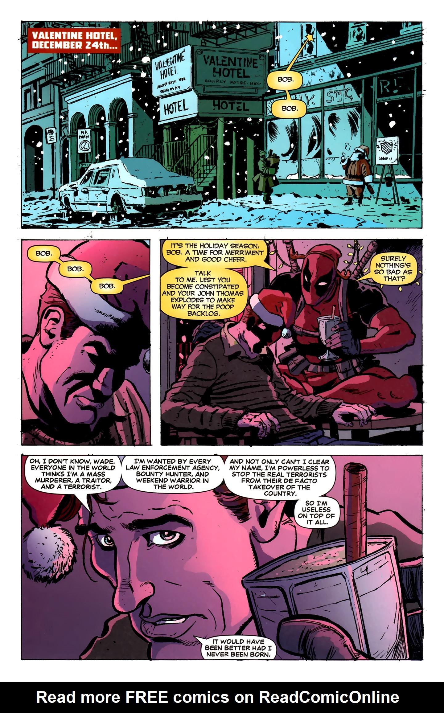 Read online Deadpool MAX X-Mas Special comic -  Issue # Full - 3